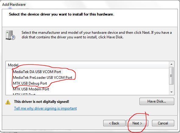 mediatek da usb vcom drivers windows 8 download