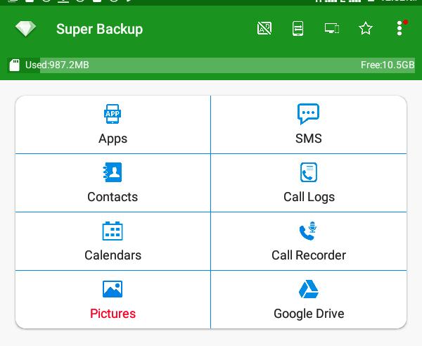 super backup app