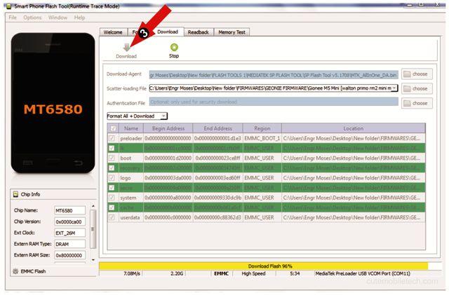 How To Flash Mediatek Android Phones - SP Flash Tool ⋆ Cute MobileTech