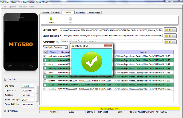 How To Flash Mediatek Android Phones - SP Flash Tool ⋆ Cute