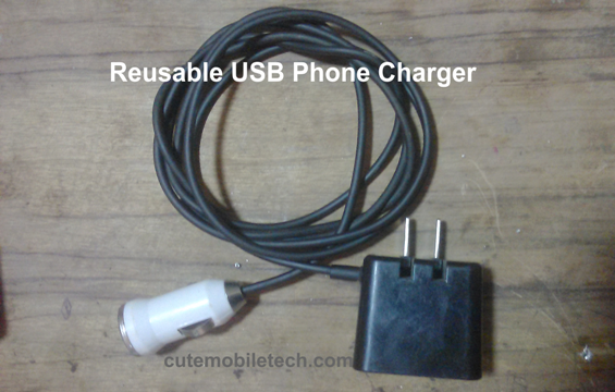 How To Make Reusable USB Phone Chargers Scraps-DIY