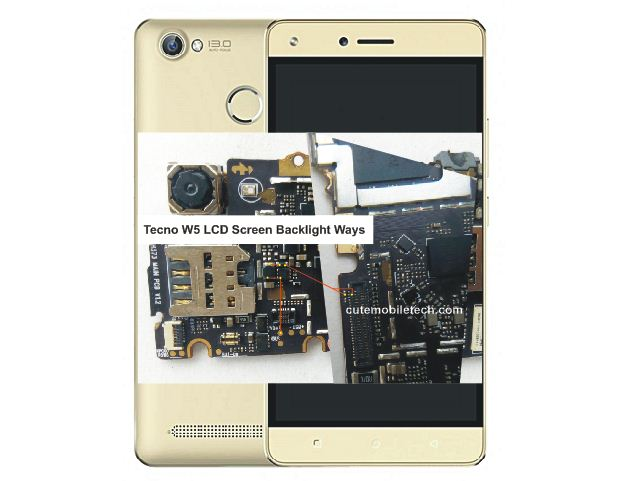 Tecno W5 LCD Screen Backlight Ways