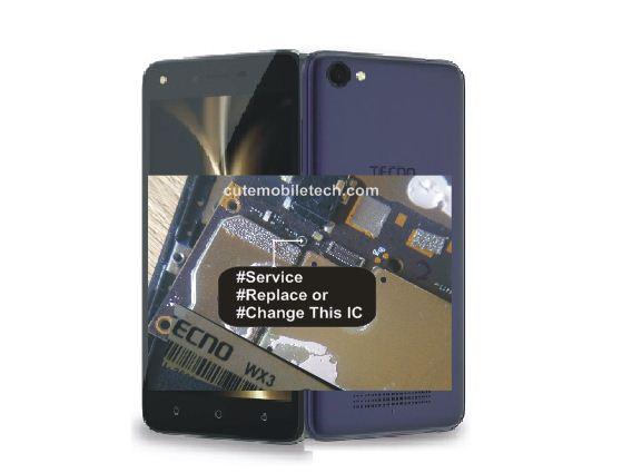 Tecno WX3 Rebooting Water Damage Hardware Solution
