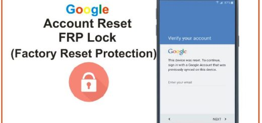 Google Account Reset FRP-Lock
