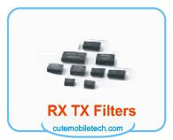 Mobile Phone Rx Tx Filters