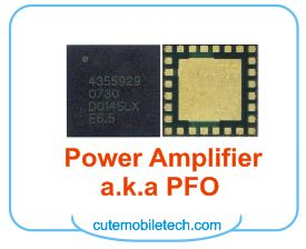 Mobile Phone Power Amplifier, PFO IC