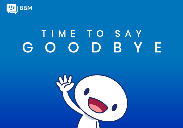 BBM is going Away