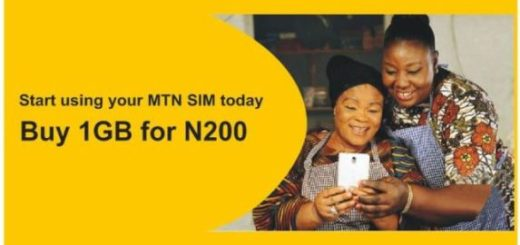 mtn welcome back N200 1GB