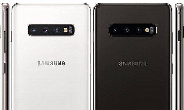 samsung galaxy s10+ android phone