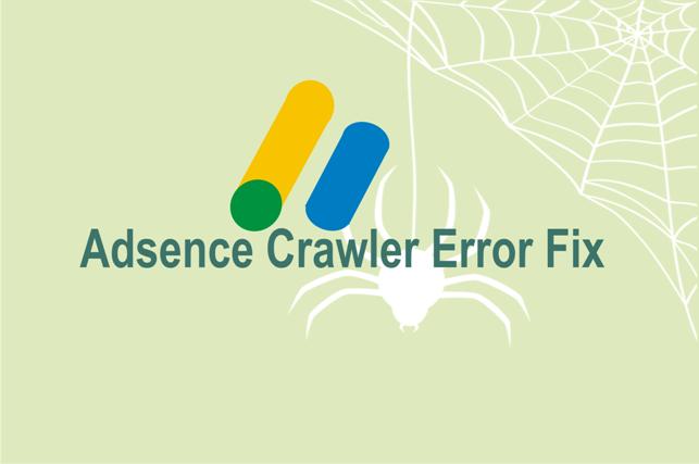 adsence crawler errors