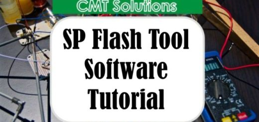 sp flash tool practical tutorial