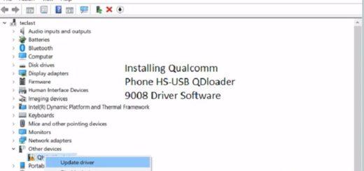 Installing qualcomm phone USB drivers